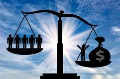 Power money social economy Stock Photo