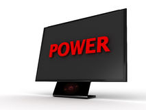 Power Monitor Royalty Free Stock Photo