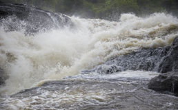 The Power of Murchison Falls Waterfall Stock Image