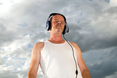 Power of music Stock Photography