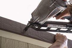 Power nailer,air gun Stock Photo