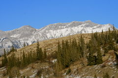 Power of nature, canadian rockies. Jasper national park, alberta, canada, good sunny weather Stock Photos