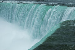 The power of Niagara falls, Canada Royalty Free Stock Photos
