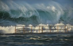 Power of the Ocean Royalty Free Stock Photography