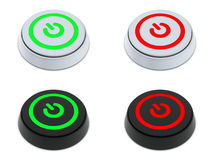 Power ON and OFF buttons Royalty Free Stock Photography
