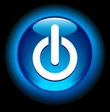 Power On Button Stock Photo