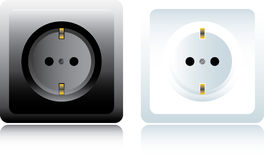 Power outlet Royalty Free Stock Images