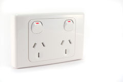 Power outlet Royalty Free Stock Photos