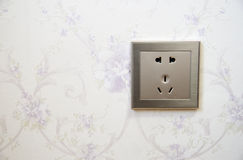 A power outlet Stock Image