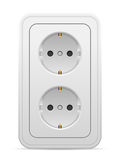Power outlet Royalty Free Stock Image
