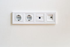 Power outlet Royalty Free Stock Photo