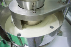 Power packing filling machine Royalty Free Stock Photos