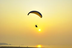 Power paragliding Royalty Free Stock Photo