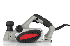 Power planer on a white background Royalty Free Stock Images