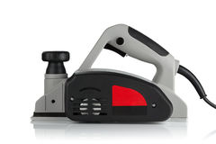 Power planer on a white background Royalty Free Stock Image