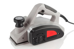 Power planer on a white background Royalty Free Stock Photography