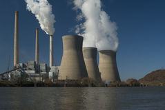 Power Plant Royalty Free Stock Photography