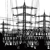 Power plant. Stock Image