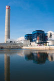 Power generator plant in the industrial estate  Stock Photography
