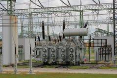 Power plant 2. Power plant construction industries energy stock photo