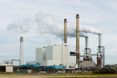 A power plant Stock Photography
