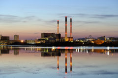 Power plant Royalty Free Stock Photo
