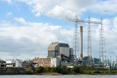 A power plant Royalty Free Stock Photo