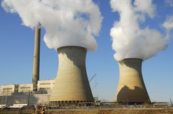 Power Plant. A Large Fossil Fuel Power Generation Plant Stock Images