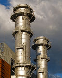 Power Plant. Heat Power Plant in Boroa, Spain Stock Photography