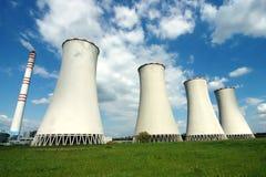 Power plant. In Detmarovice (Czech Republic royalty free stock photos