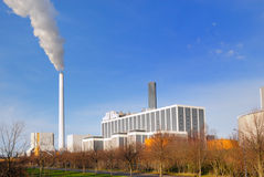 Power Plant Royalty Free Stock Photos