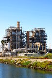 Power Plant. Natural gas power plant near Ventura California Stock Photography
