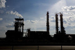 Power plant. Big power plant in Rovinari, Romania stock image