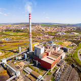The power plant. Royalty Free Stock Photo