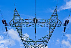 Power Plant And Power Lines Royalty Free Stock Image
