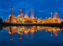 Power Plant on blue sky. Stock Image