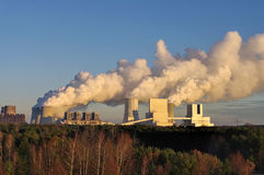Power plant Boxberg. The modern power plant Boxberg Royalty Free Stock Photography