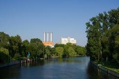 Power Plant Charlottenburg, Berlin, Germany Stock Photography