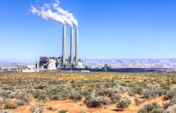 Power Plant Stock Photography