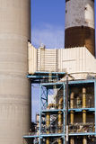 Power Plant Components. TECO power plant in Ruskin Florida Stock Photography