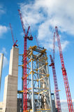 Power plant construction Royalty Free Stock Photography