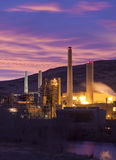 Power Plant Dawn Stock Image
