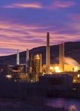 Power Plant Dawn Stock Image