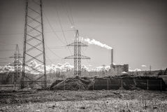 Power plant. Royalty Free Stock Image