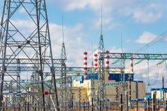 Power plant Royalty Free Stock Photo