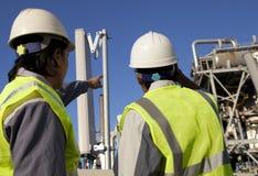 Power plant engineer Stock Photo