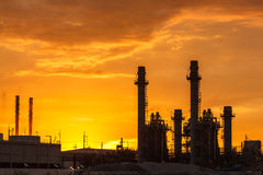 Power plant in the evening. Stock Photography