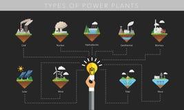 Free Power Plant Icon Vector Symbol Set Stock Photos - 59721623