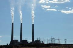 Power Plant. Image of a Power Plant near Page Arizona USA Royalty Free Stock Photos