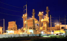 Power plant. In the industrial Stock Images